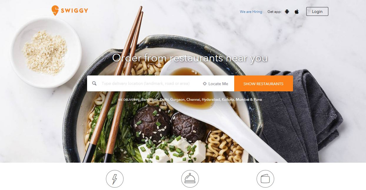 Swiggy Launched cloud kitchen in Bengaluru-Startagist