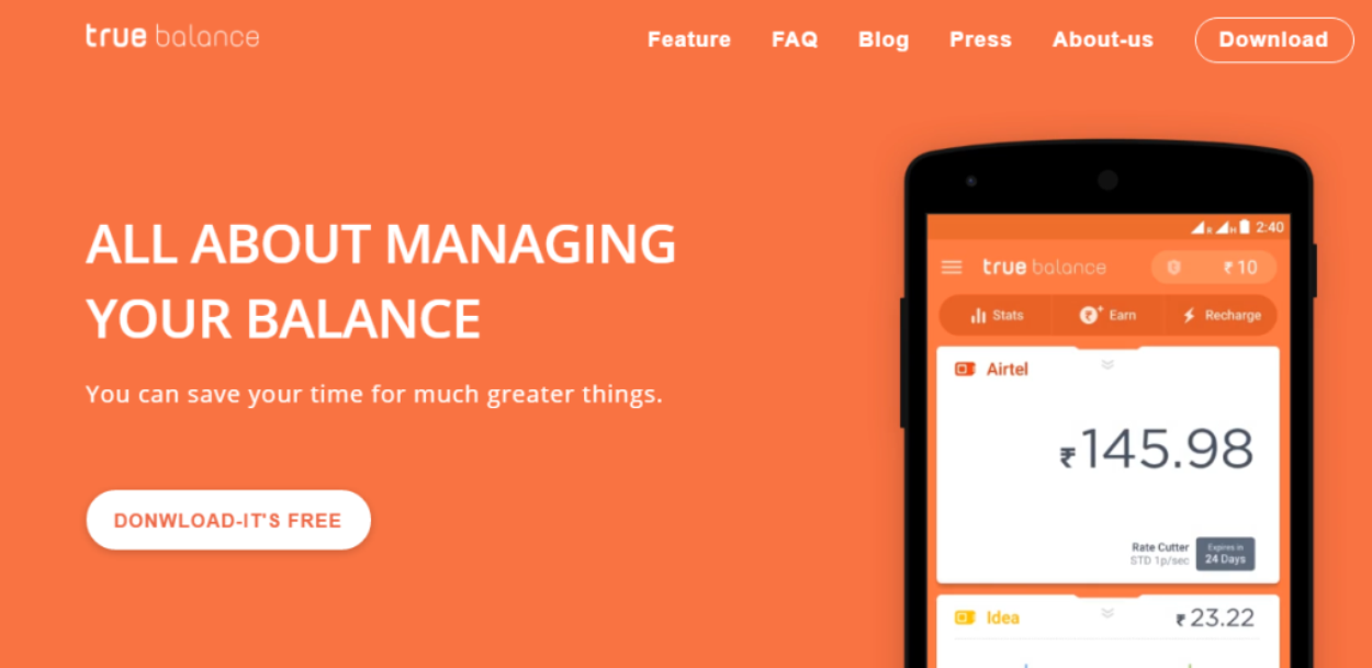 True Balance raises Rs 100 Cr led by SoftBank Ventures Korea & IMM Investment Corp