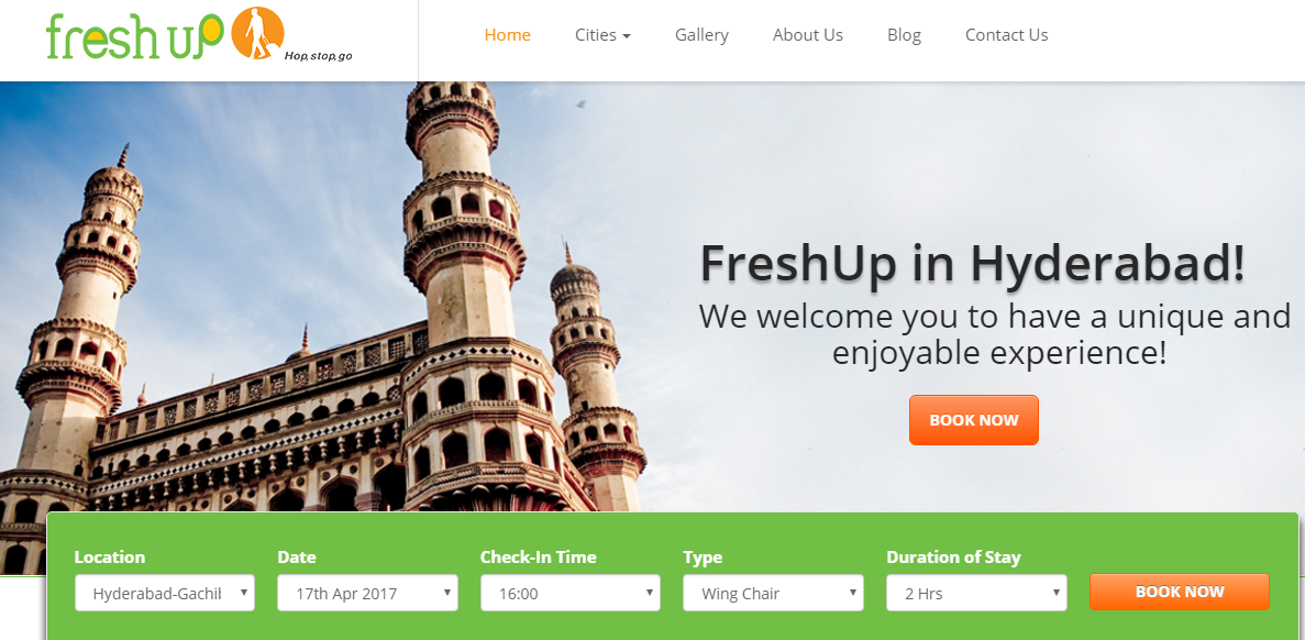 Now Rent Pocket-Friendly Hotel Rooms on Hourly Basis-Freshup
